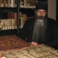 Fr. Justin Sinaites, librarian at St. Catherine's monastery, Mt. Sinai, on <b>Life as a Monk in the Desert</b>
